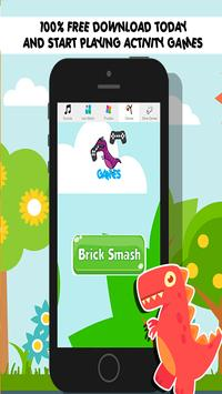 Dinosaur Games For Toddlers: poster