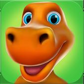 Mon Dinosaure Qui Parle Ross icône