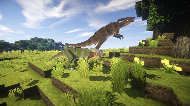 Dinosaur Mod for Minecraft PE screenshot 3