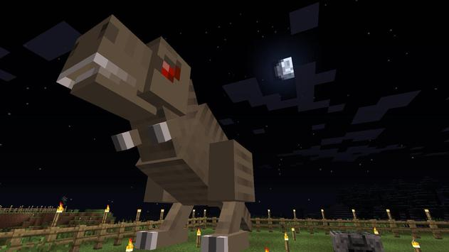 Dinosaur Mod for Minecraft PE screenshot 1
