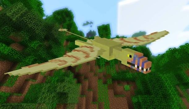 Dinosaur Mods For Minecraft poster