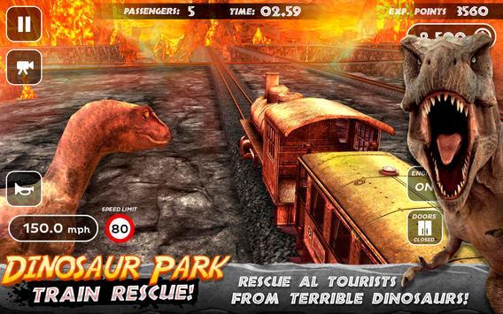 Dinosaur Park - Train Rescue screenshot 3