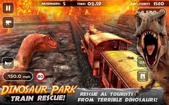 Dinosaur Park - Train Rescue تصوير الشاشة 3