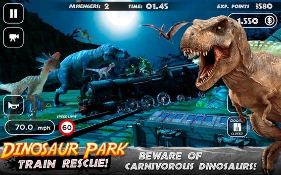 Dinosaur Park - Train Rescue تصوير الشاشة 2