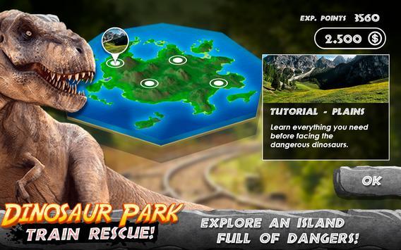 Dinosaur Park - Train Rescue تصوير الشاشة 4