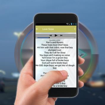 Chief Keef.Love Sosa.Text songs mix 2018 screenshot 2