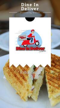Dine In Deliver poster