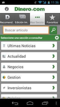 Dinero.com apk screenshot