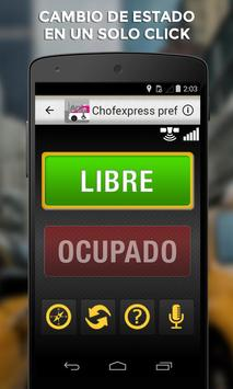 Chofexpress Preferente Taxista screenshot 1