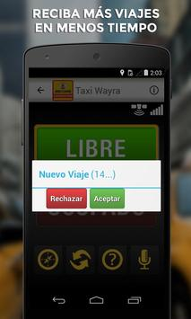 Taxi Wayra Taxista screenshot 2