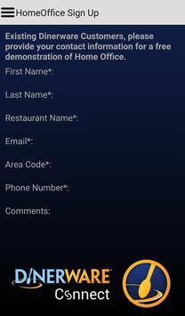 Dinerware Connect apk screenshot