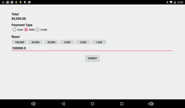 Ding! POS Apps apk screenshot