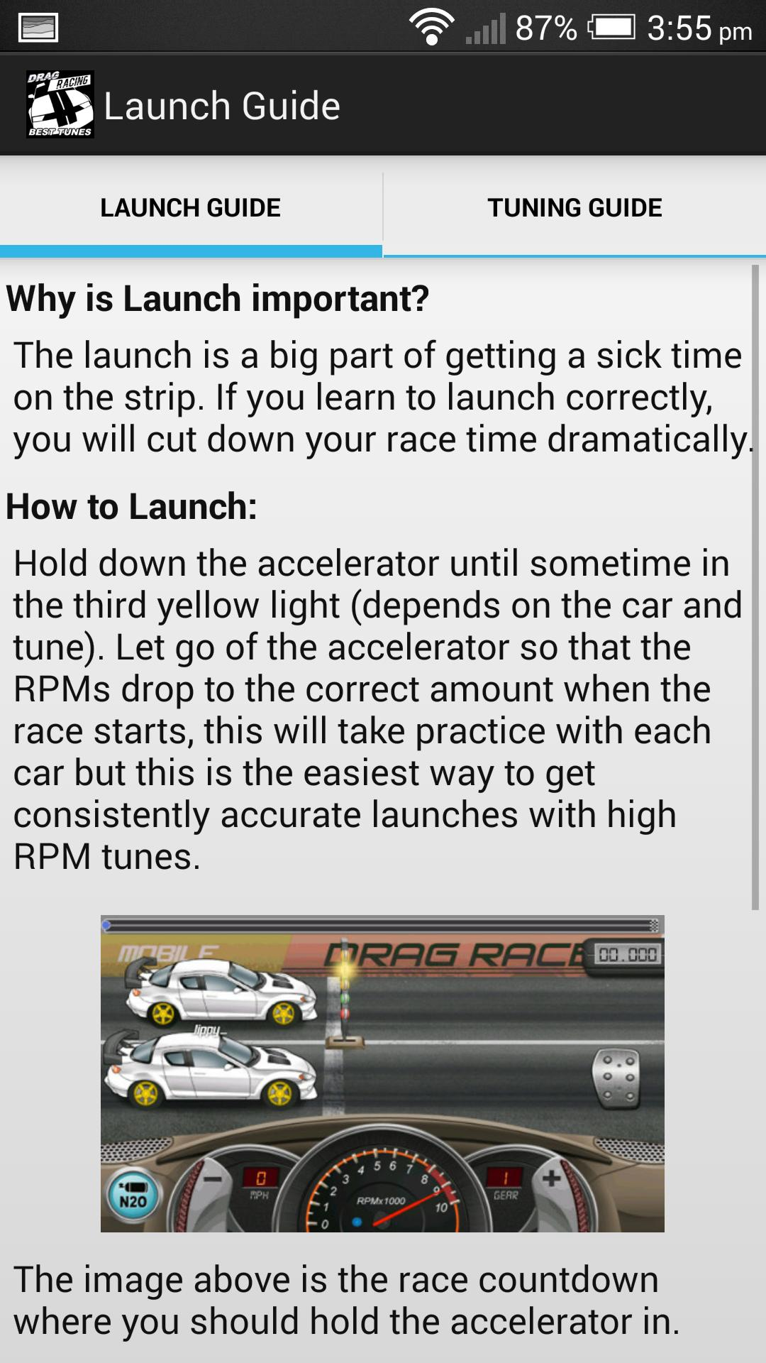 Drag Racing Best Tunes for Android - APK Download