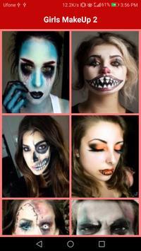 Halloween Face Makeup Ideas screenshot 3