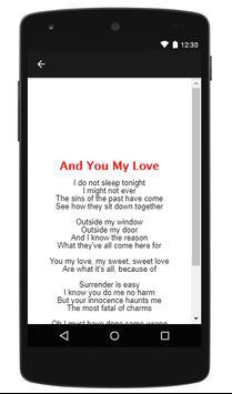 Chris Rea || And You My Love - New Music Lyric apk screenshot