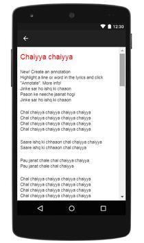"A. R. Rahman, ""Jiya Jale"" (Dil Se) apk screenshot"