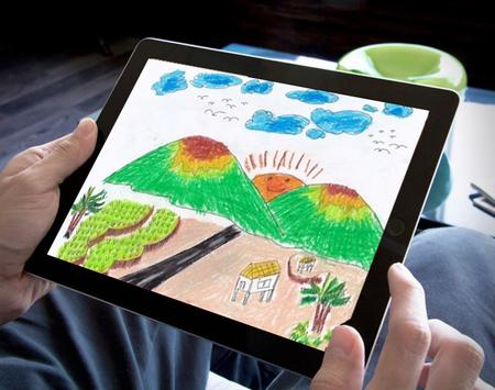 Learn to Drawing Scenery Step by Step apk screenshot