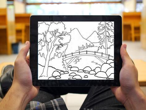 Learn to Drawing Scenery screenshot 5