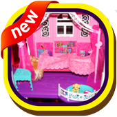Baby Girl Doll House Design icon