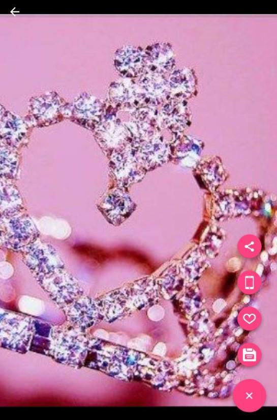 rosa Diamant-Glitzer-Tapete für Android - APK herunterladen