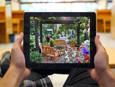 Mini garden ideas apk screenshot
