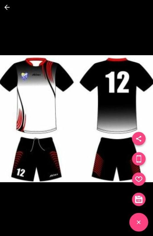 81908f054f21a ... diseño uniforme de camiseta deportiva captura de pantalla 4 ...