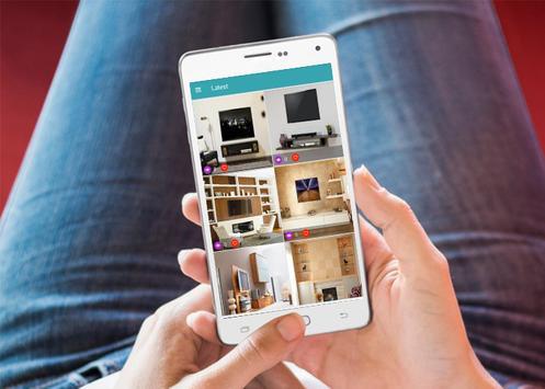 TV Shelves Idea screenshot 1