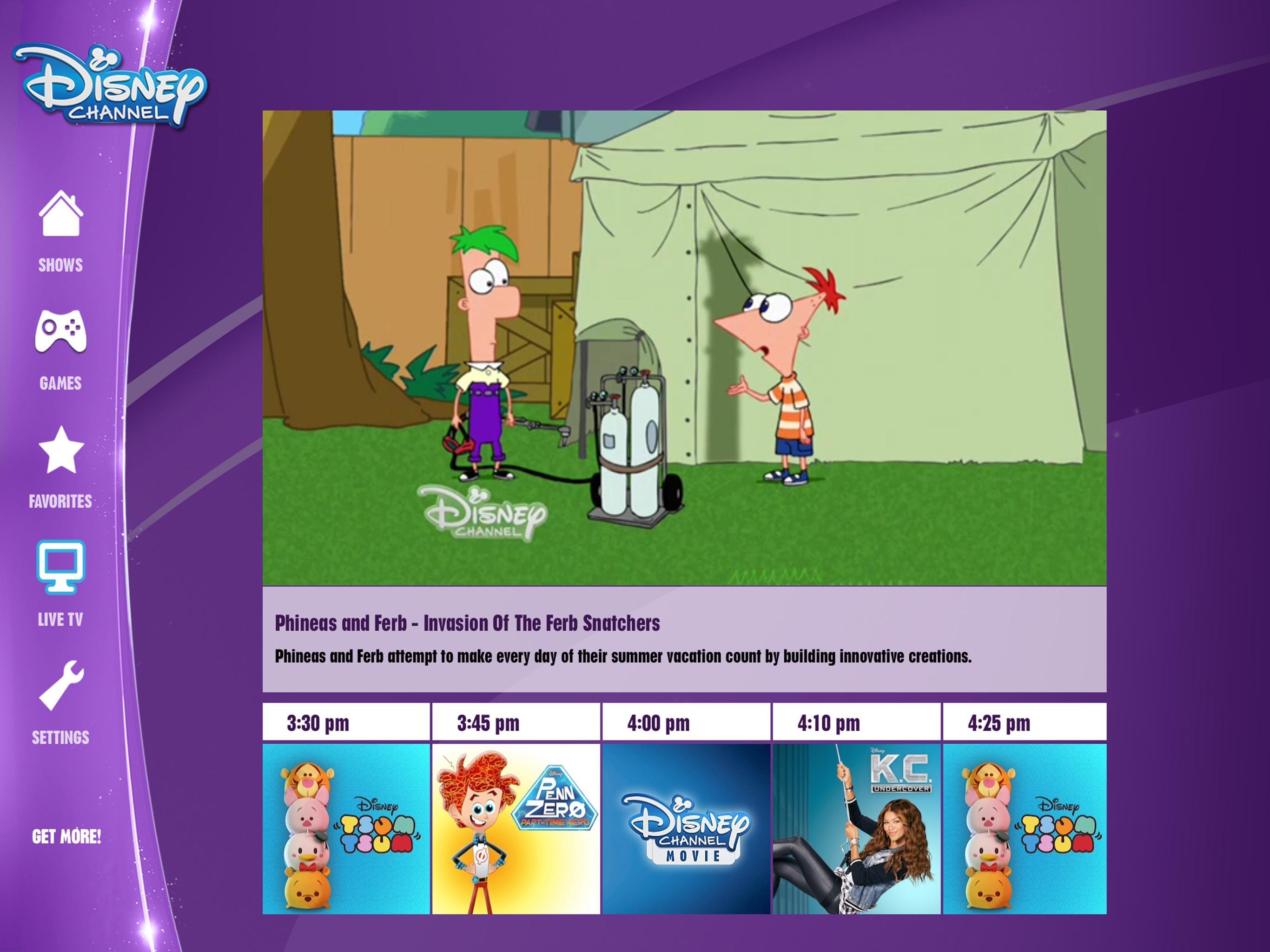 Disney channel apk download
