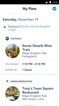 My Disney Experience screenshot 2
