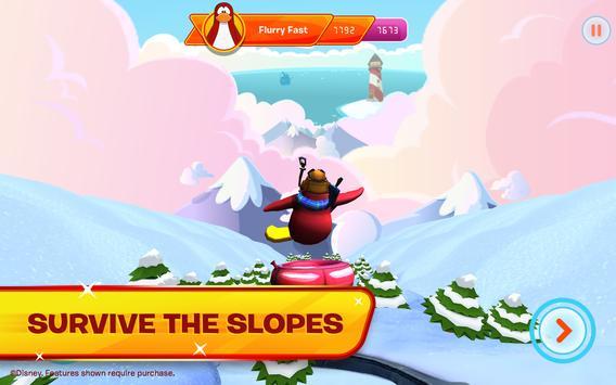 Club Penguin Sled Racer screenshot 1