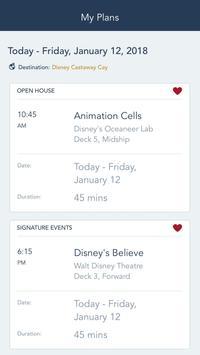 Disney Cruise Line Navigator スクリーンショット 4