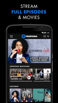 Freeform – Stream Full Episodes, Movies, & Live TV poster ...