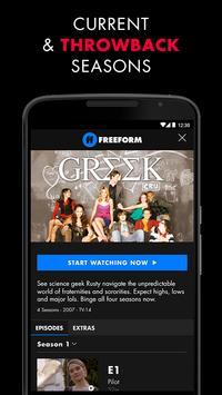 ... Freeform – Stream Full Episodes, Movies, & Live TV apk screenshot ...