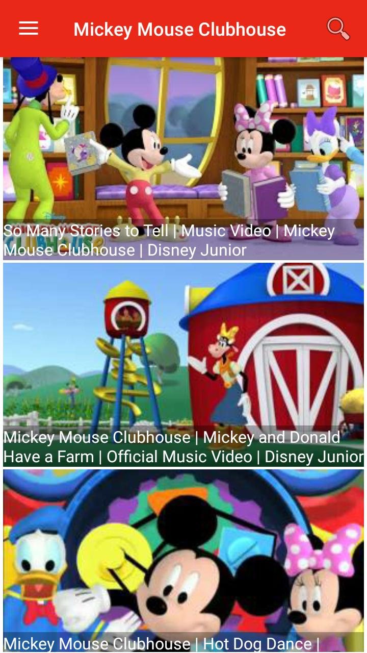 mickey mouse clubhouse video download
