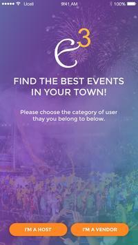 Even3App: Events-Vendors Match screenshot 2