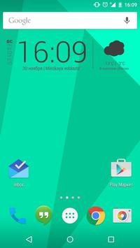 Square Zooper Widget apk screenshot