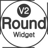 Lollipop Round 2 Zooper Widget icon