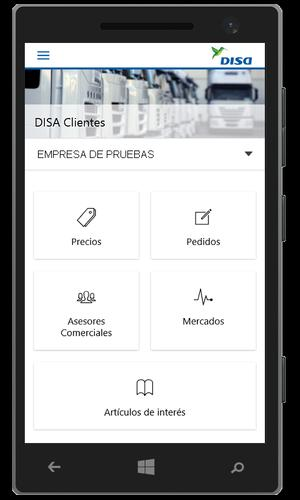 DISA Clientes for Android - APK Download