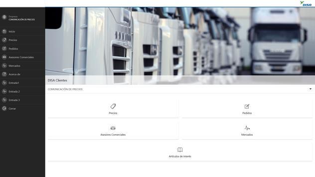 DISA Clientes apk screenshot