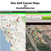 Disc Golf Course Maps icon