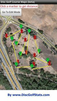 Disc Golf Course Maps apk screenshot