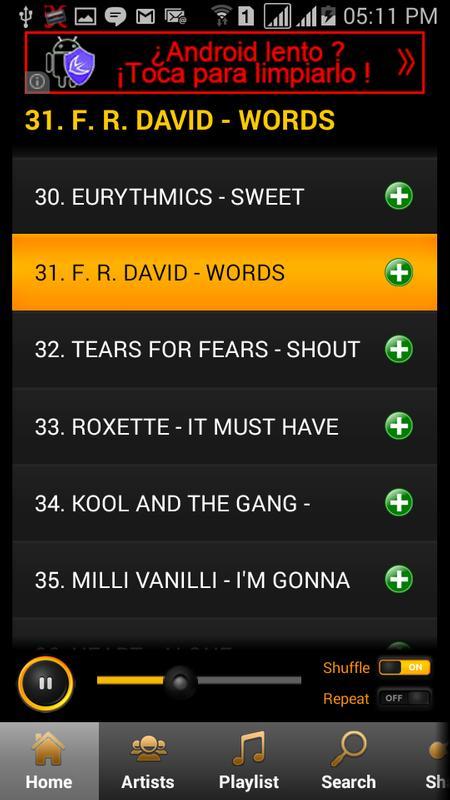 80s Songs Screenshot 5
