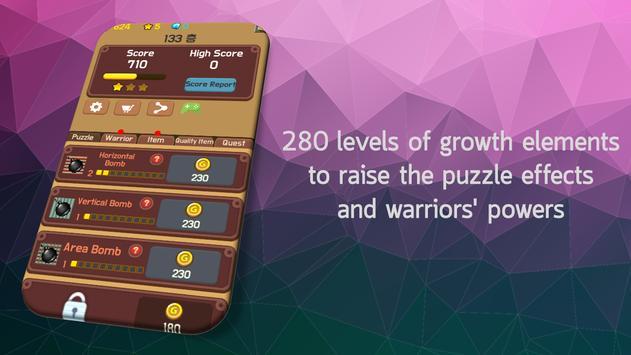 Line Dungeon - Puzzle RPG screenshot 2