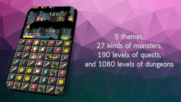 Line Dungeon - Puzzle RPG screenshot 3