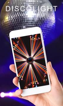 Colorful Disco Flashlight - LED Flashlight screenshot 2