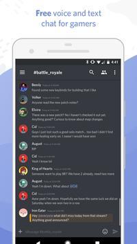 Discord - Chat para jugadores Poster