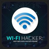 WIFI WPS WPA Hacker : tester Prank icon