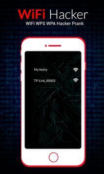 WIFI WPS WPA Hacker : tester Prank poster