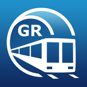 Athens Metro Guide and Subway Route Planner icon