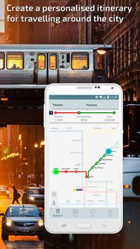Athens Metro Guide and Subway Route Planner apk screenshot